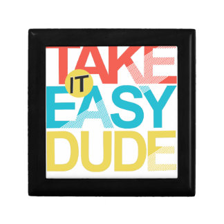 take it easy dude gift box