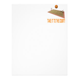 Take It To The Court Letterhead