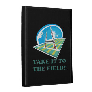 Take It To The Field iPad Case