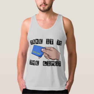 Take It To The Limit Credit Card Tank Top