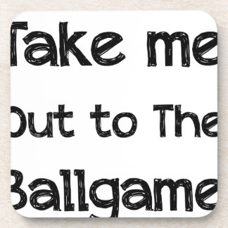 Take Me Out To The Ball Game Coasters