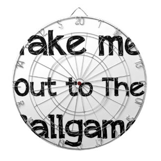 Take Me Out To The Ball Game Dartboard