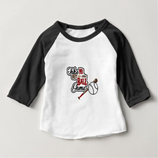 Take Me Out To The Ball Game design Baby T-Shirt