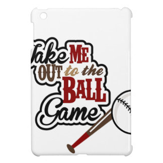 Take Me Out To The Ball Game design Case For The iPad Mini