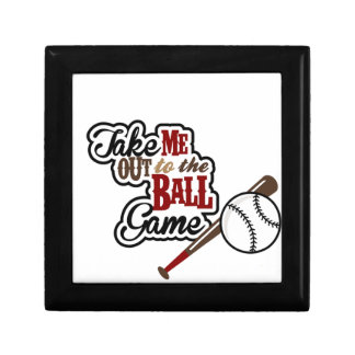 Take Me Out To The Ball Game design Gift Box