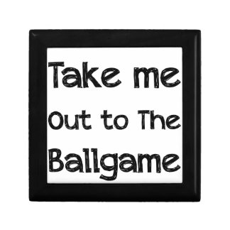 Take Me Out To The Ball Game Gift Box