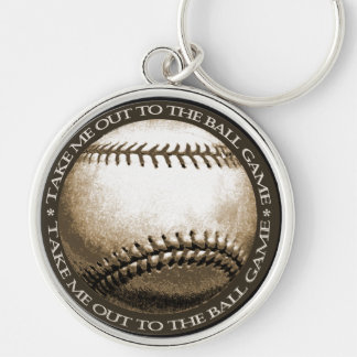 Take Me Out to the Ball Game Keychain
