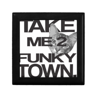 Take Me To Funky Town Cat Gift Box