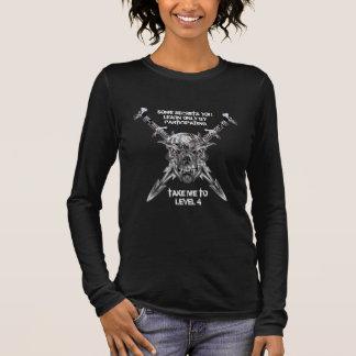Take me to Level 4 T-Shirt (white on dark)