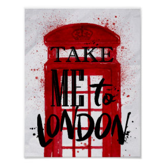 Take Me To London Poster