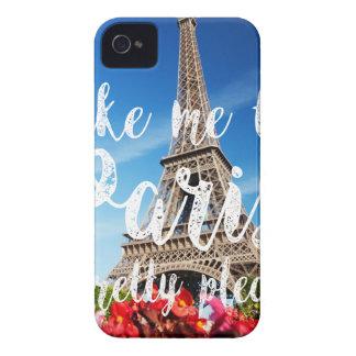 take me to Paris iPhone 4 Cover