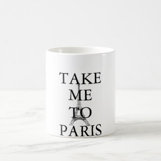TAKE ME TO PARIS MUG by KeyAesthetics