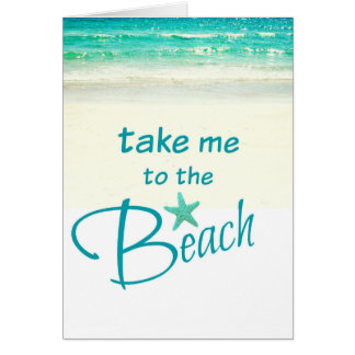 Take me to the Beach Card