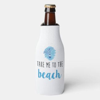 Take me to the beach coozie