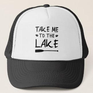 Take Me To The Lake Trucker Hat