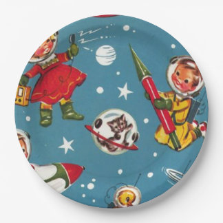 Take Me to the Moon Plates 9 Inch Paper Plate