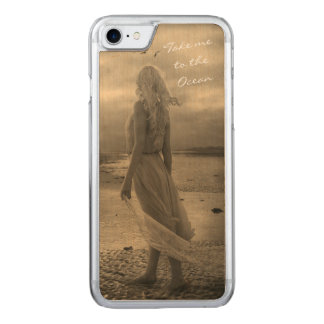 Take me to the Ocean Carved iPhone 8/7 Case