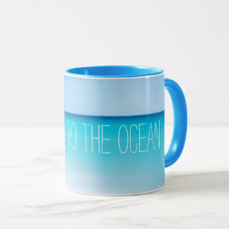 Take Me to the Ocean Summer Beach Motivational Mug
