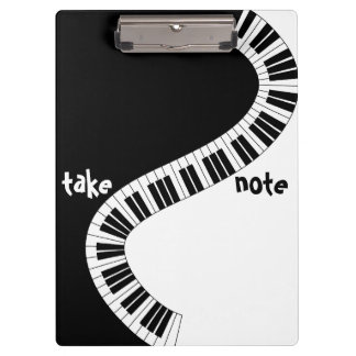 """""""Take Note"""" Musical Clipboard"""