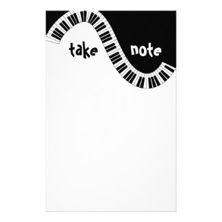 """""""Take Note"""" Musical Stationery"""