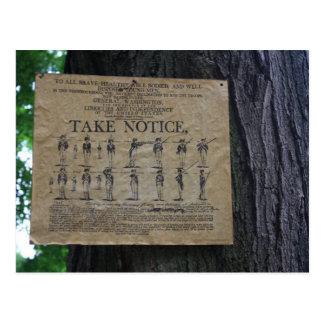 Take Notice Postcard