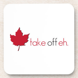 Take Off Eh Drink Coasters
