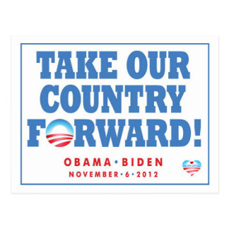 Take our Country Forward - Vote postcard