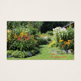 Take The Cottage Garden Path! Business Card