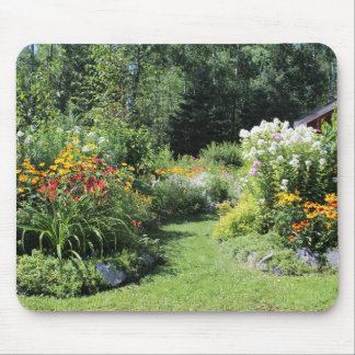 Take The Cottage Garden Path! Mouse Pad