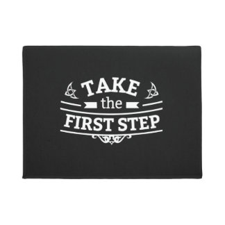 Take The First Step Doormat