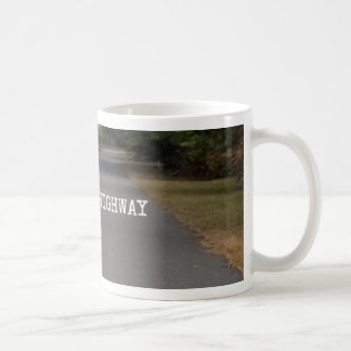 Take The Highway Two Lane Coffee Cup