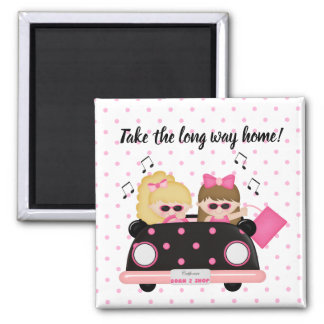 Take the long way home topless convertible shopper magnet