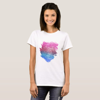 Take the risk or lose the chance Woman Shirt