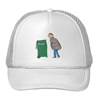 Take The Rubbish Out Trucker Hat