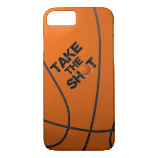 Take the Shot Basketball iPhone 7 Case