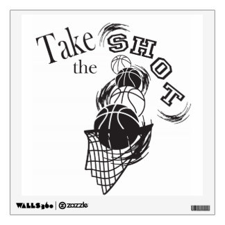 Take the Shot Wall Sticker