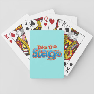 Take the Stage Playing Cards, Standard Index Faces Playing Cards