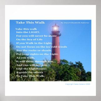 Take this Walk Poster