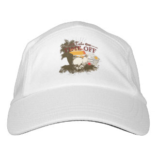 Take Time Off Knit Performance Hat, White Headsweats Hat