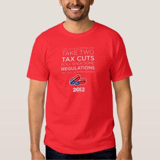 Take Two Tax Cuts Tee Shirts