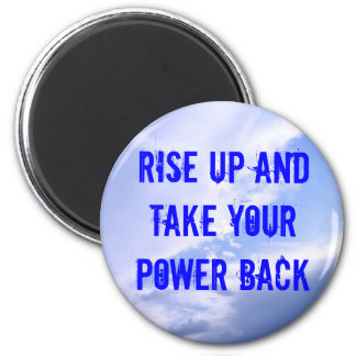 take your power back magnet