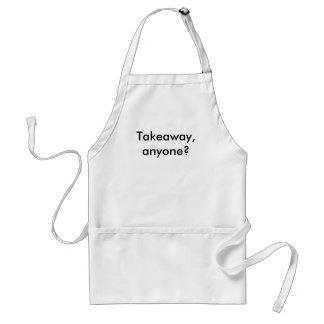 Takeaway, anyone? standard apron