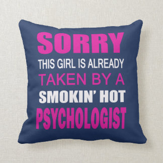TAKEN BY A PSYCHOLOGIST THROW PILLOW