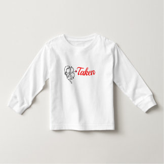 Taken by Love - Cupid Toddler T-shirt