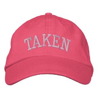 TAKEN EMBROIDERED HAT