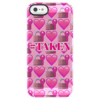 Taken Emoji iPhone SE/5/5s Clearly™ Deflector Case