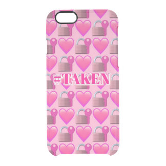 Taken Emoji (Pink) iPhone 6/6s Clearly™ Case