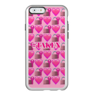 Taken Emoji (Pink) iPhone 6/6s Incipio Incipio Feather® Shine iPhone 6 Case