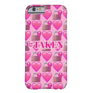 Taken Emoji (Pink) iPhone 6/6s Phone Case