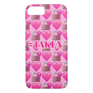 Taken Emoji (Pink) iPhone 8/7 Phone Case